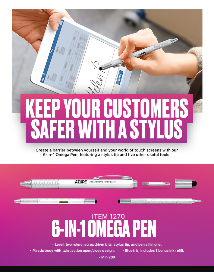Stylus Pen2<br><p2>for additional personalization, contact us at <a  data-cke-saved-href='mailto:service@alexandermc.com?&subject=Flyer Personalization-Stylus Pen2&body=Hello, I would like to have my company information added to the Stylus Pen2 flyer. ATTN DISTRIBUTORS: Please provide your contact info, and attach your logo. For custom virtuals, please attach your customers logo as well.' href='mailto:service@alexandermc.com?&subject=Flyer Personalization-Stylus Pen2&body=Hello, I would like to have my company information added to the Stylus Pen2 flyer. ATTN DISTRIBUTORS: Please provide your contact info, and attach your logo. For custom virtuals, please attach your customers logo as well.'>service@alexandermc.com</p></a>