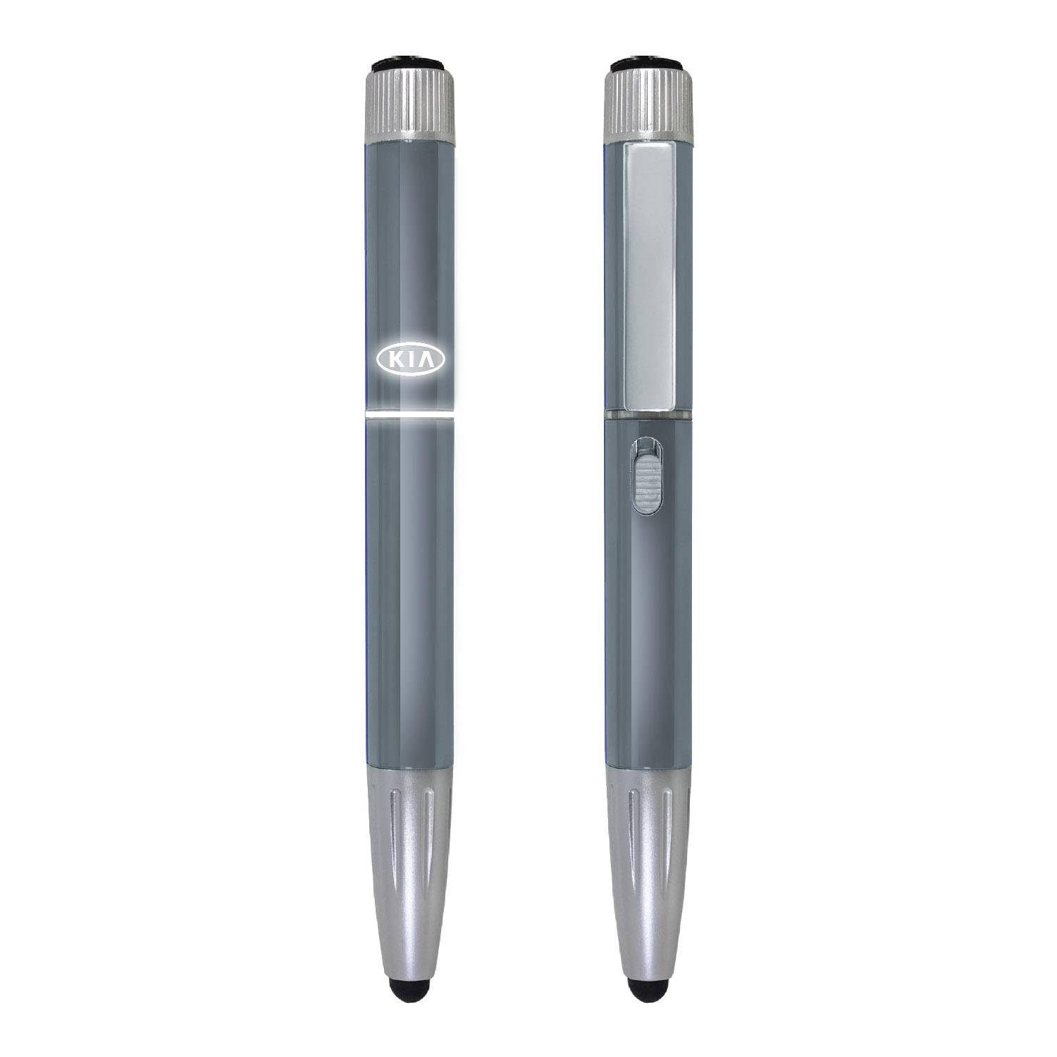 1273 - 8 in 1 Lighted Logo Pen