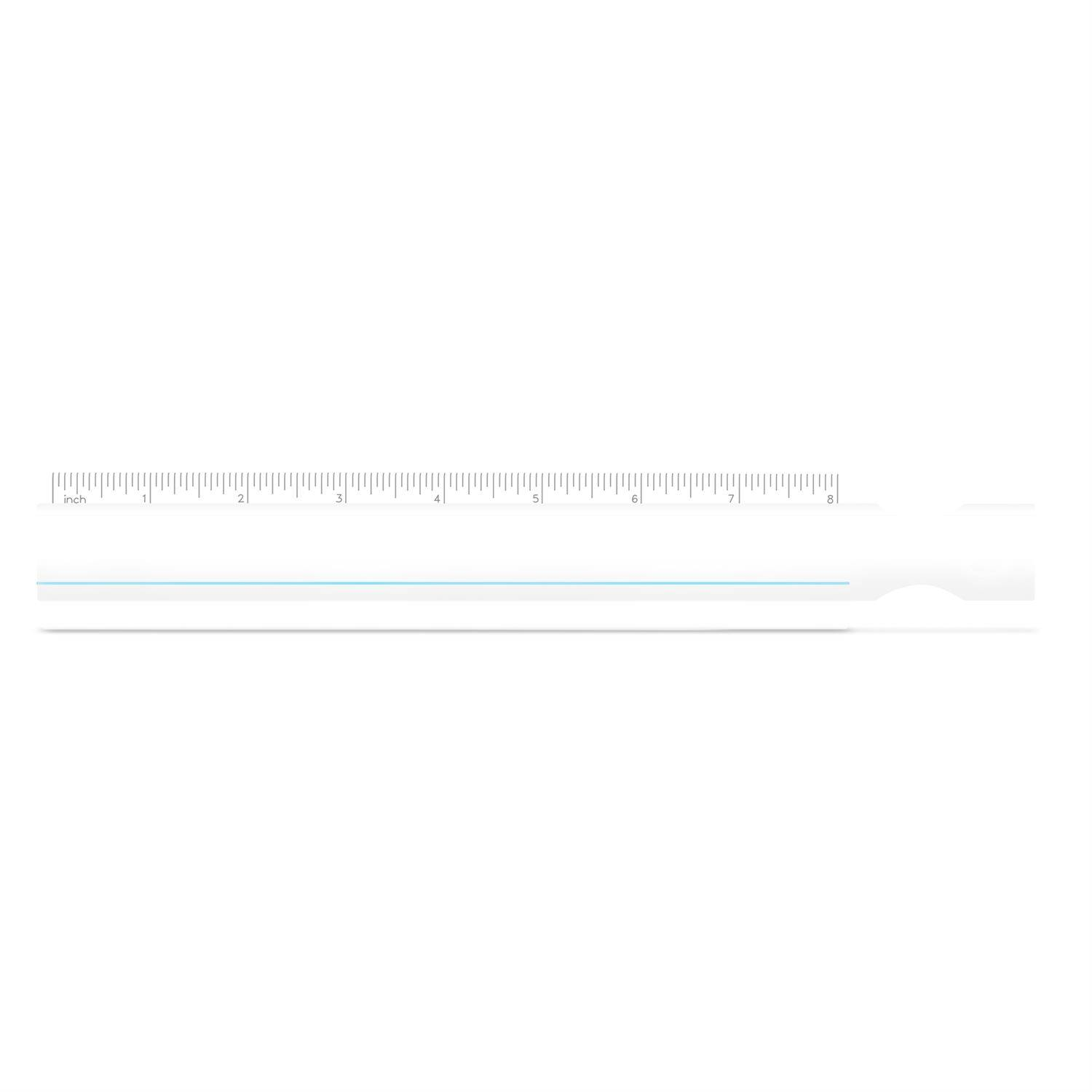 1365 - Ruler/Double Magnifier