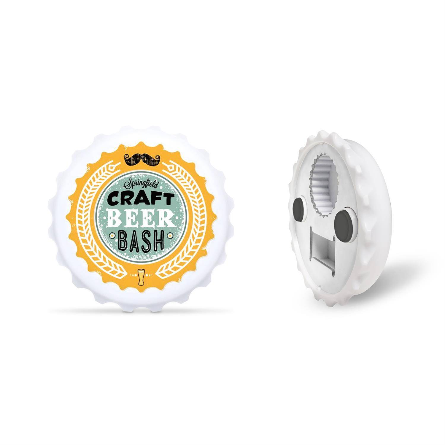 Bottle Cap Shaped Bottle Opener