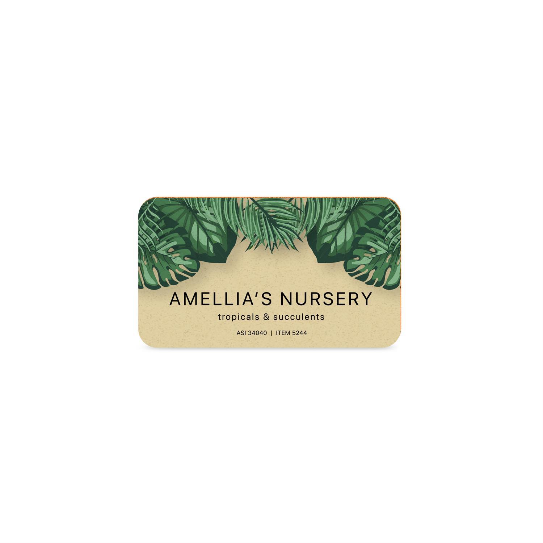 Business Card Emery Board