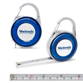 2098 - 6-ft Carabiner Tape Measure