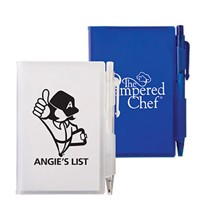 Notebook With Pen-Blue