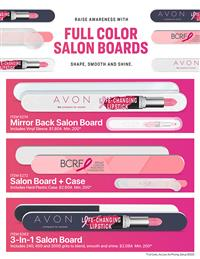 Expanded Line of Salon Boards